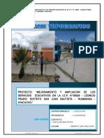 Informe Topográfico San Melchor