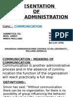 Public Administation