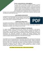 UNIDAD I - EVOLUCIÓN DE LA EDUCACIÓN EN LATINOAMÉRICA.docx