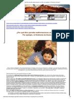 ¿Por Qué Dios Permite Malformaciones en Niños, Por Ejemplo, El Síndrome de Down