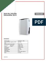 Dehumidifier data sheet.pdf