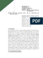 Demanda Mejor Derecho de Posesión Felliciano Urbano Muñoz Venturo