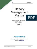 Battery Management Manual for Flexi Power Rectifier Rev AB.docx