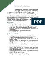 Content Writer Recruitment(1)
