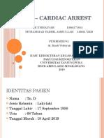 Mr – Cardiac Arrest