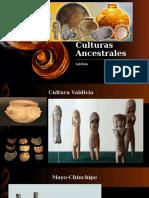 Culturas ancestrales Ecuador