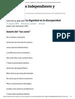 Héroes y Parias. La Dignidad en La Discapacidad _ Foro de Vida Independiente y Divertad