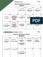 Cronograma Plan Abril 2019