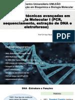 1 Aula Métodos e Técnicas Avançadas Em Biologia Molecular I