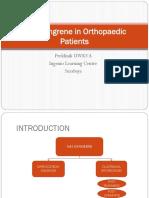 Gas Gangrene in Orthopaedic Patients