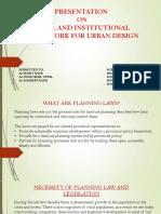 Presentation on Urban Design