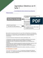 Plan de Diagnóstico Eléctrico en 6 Pasos