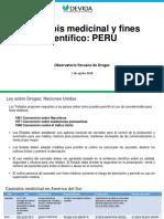 Frank Casas - Peru - Cannabis Medicinal y Fines Científico