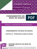 TLP 12ª__Fundamentos De Base De Dados.pdf