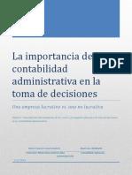 La Importancia de la contabilidad en la planeación de las organizaciones