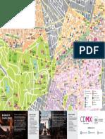 Mapa Chapultepec - Reforma- CDMX