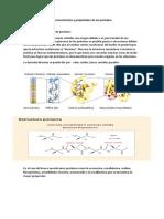 Reconocimiento y Propiedades de Las Proteínas