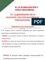 12. Globalización de La Economía y El Comercio Exterior