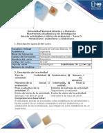 Guía Actividad 3 Bioquimica