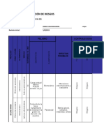 Matriz de Identificación de Riesgos - Diego Chacon