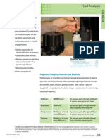 Hydraulic Fluid Analysis Program