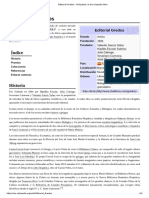 Editorial Gredos - Wikipedia, La Enciclopedia Libre