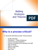 1) Bidding Strategy and Theory