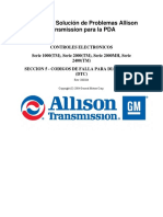 TS3192ES - Manual de Diagnóstico Serie 1000 y 2000ALLISON