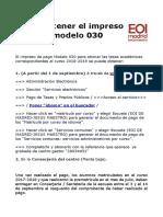 Cómo obtener Modelo 030.matrícula 02.pdf