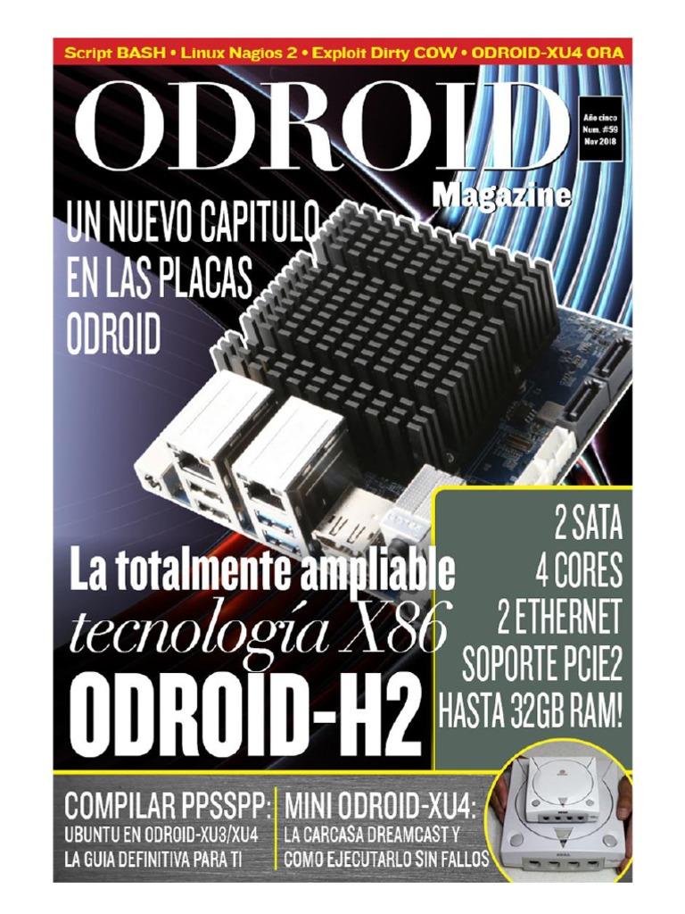 Odroid N59 - Noviembre 2018   Android (Sistema operativo)   Archivo