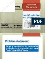 Heat Conduction Composite Wall