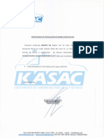 Certificado de Jaula Antivuelco AWS730.