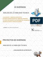 Clase Proyectos de Inversión-estudio de Localizacion Py-2018-1