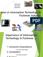 Role of Information Technlogy in Footwear