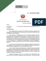 Directiva Nº 2018
