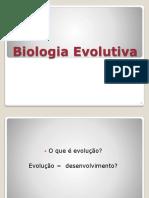 Aula 1 - Desenvolvimento Do Pensamento Evolutivo