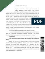 Finiquito y Lo Que No Incluye
