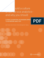 How To Build a Culture of Self-Service Analytics