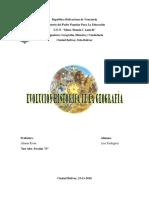 Informe Evolución Historica de Gegografía
