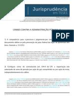 Jurisprudência Em Teses 81 - Crimes Contra a Administração Pública - II