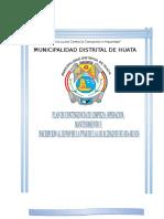 Plan de Contingencia de Limpieza, Mantenimiento, Operación e Inscripción Al Rupap de La Ptar Huata