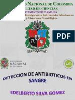 Deteccion de Antibioticos en Sangre 1