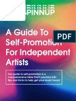 Spinnup Guide to Self Promotion