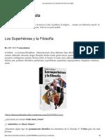 Los Superhéroes y La Filosofía _ El Rincón de Sofista