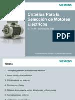 criterios para la seleccion de motores electricos - Siemens.pdf
