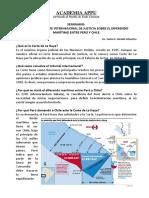 Fallo de La Fallo de La Corte Internaciona de Justicia Sobre El Diferendo Marítimo Entre Perú y Chile