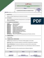 Manufacturing drawings Procedure