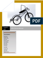 Final Design Report HPV