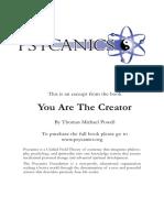 Creator Excerpt Psycanics