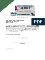 Ejemplo Carta Aceptacion Pp